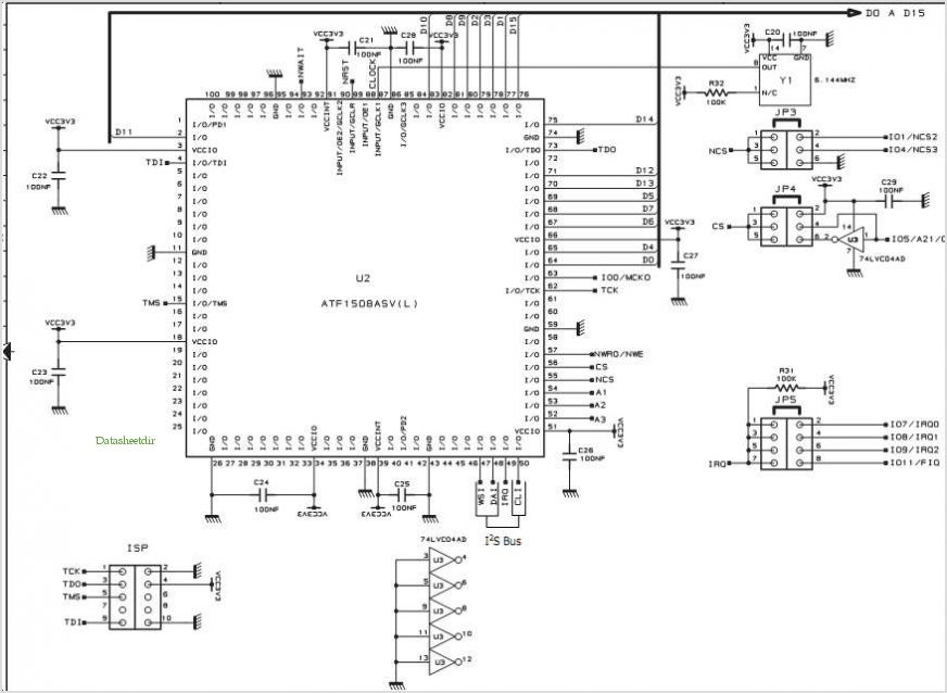 application notes and circuits for Connecting An I2s