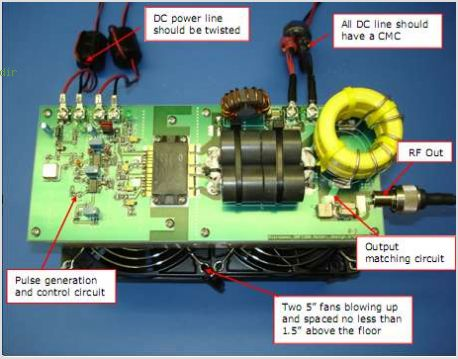 application notes and circuits for 13 56 Mhz, Class D Push