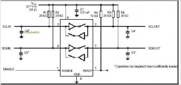 application notes and circuits for I2c / Smbus Repeaters, Hubs And