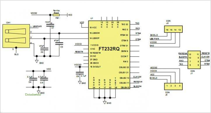 application notes and circuits for Mm232r Mini Usb- Serial Uart ...