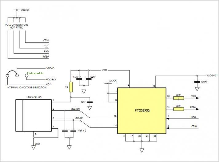 Application Notes And Circuits For Ttl 232r Pcb Ttl To Usb Serial