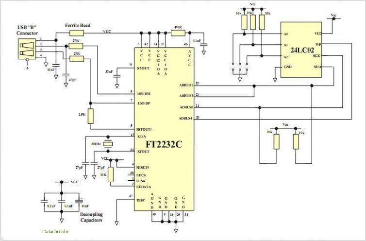 application notes and circuits for Usb To I2c Bus Interface