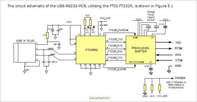 usb to serial converter circuit rh daqavop sertdisk net rs232 to usb schematic circuit arduino usb to serial schematic