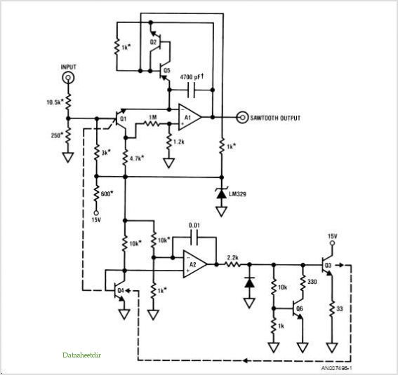 application notes and circuits for Audio Applications Of Linear