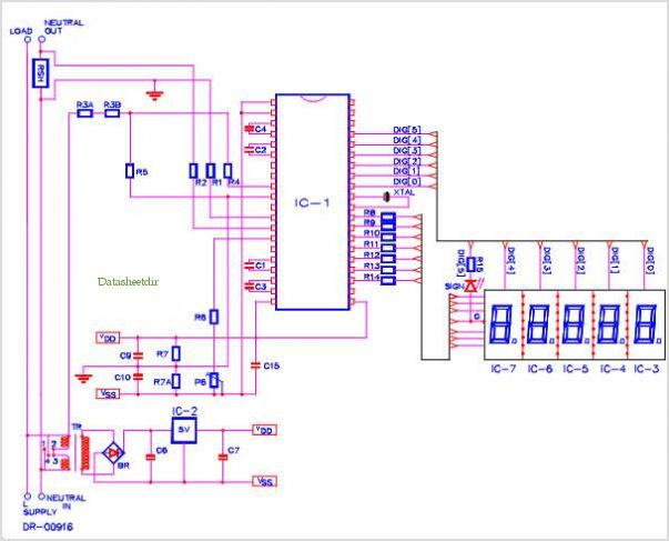 application notes and circuits for Single Phase Watt