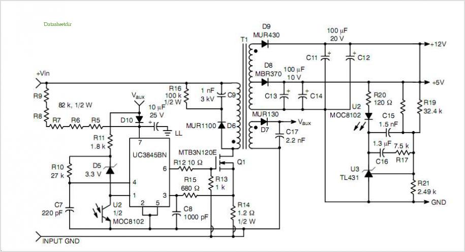 switching power supply jsl 1218 out