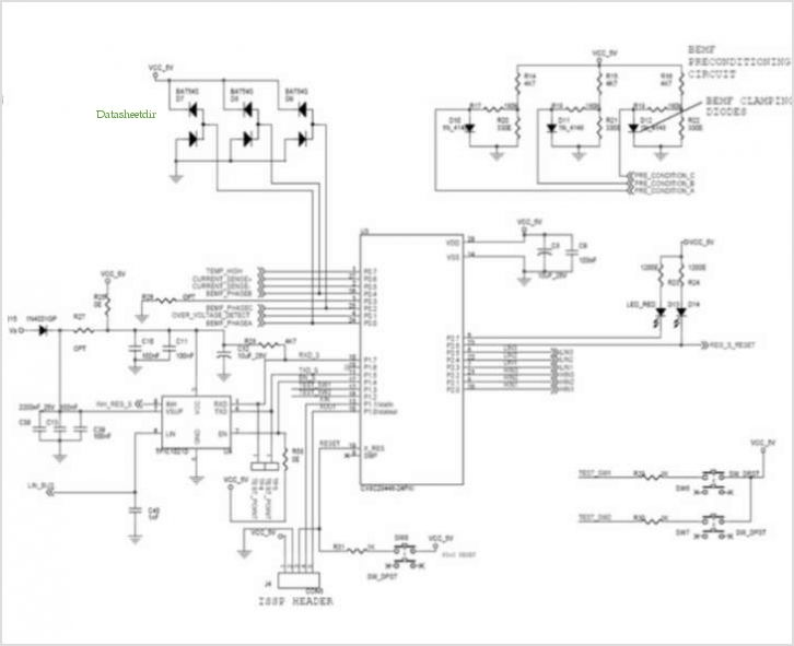 Application Notes And Circuits For Automotive Bldc Motor Control For