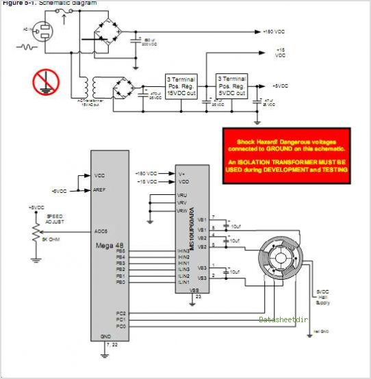 Ht45b0c To Control A 3 Phase Brushless Dc Motor