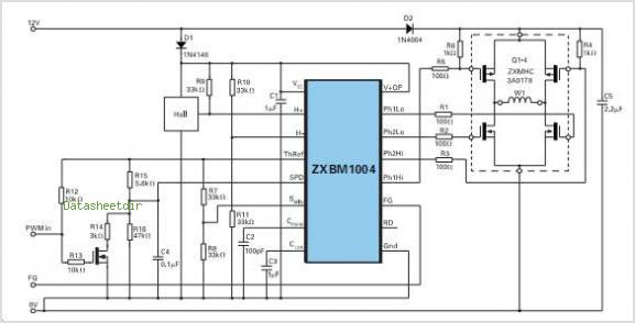 L6235 three phase brushless dc motor driver gallery for Variable speed controller for single phase motor