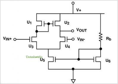 Ultra Low Voltage Differential Amplifier application circuits