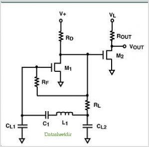 Ultra Low Voltage Nanopower Lc (colpitts) Oscillator Circuit application circuits