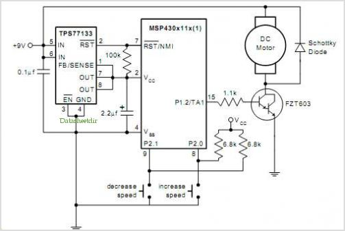 digital fan control with tachometer using msp430