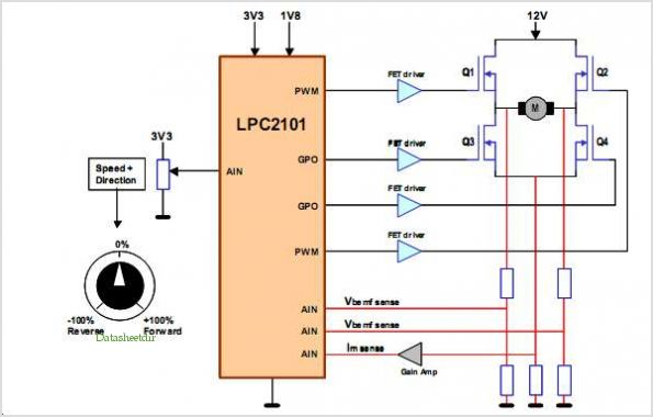 Brushed Dc Motor Driver Circuit Images