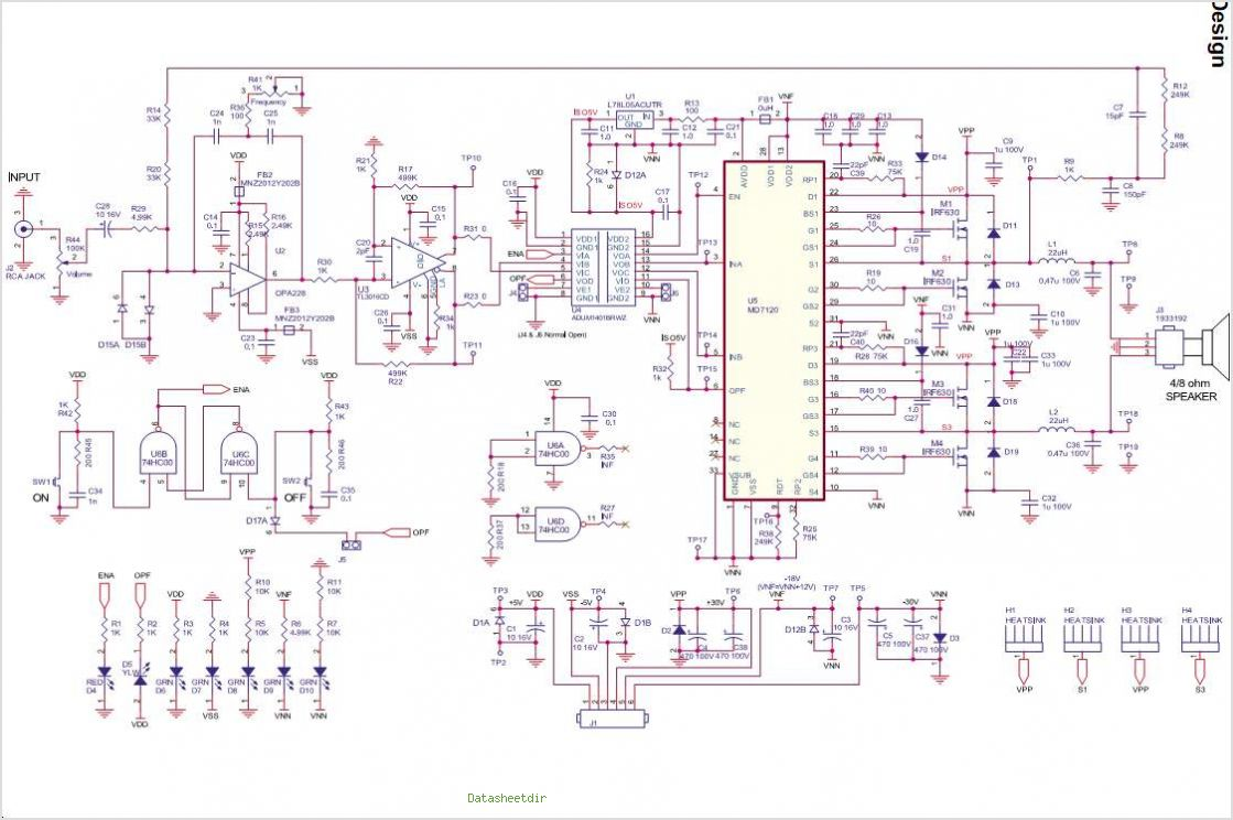 To Ac Inverter With 555 Circuit Diagram Electronic Circuits Diagram