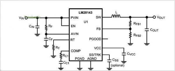 3a Lm20k Reference Designs application circuits