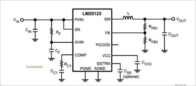 5a Lm20k Reference Designs application circuits