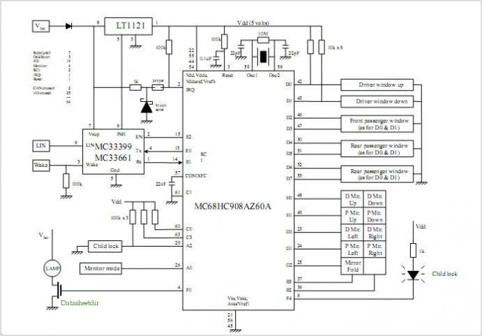 Keypad Module Circuit Diagram