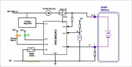 application notes and circuits for Nimh Battery Charger