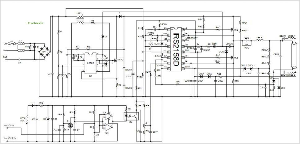 t5 electronic ballast wiring diagram images bulb t8 ballast gallery of t5 electronic ballast wiring diagram t554w fluorescent ballast using the irs2158d application circuits