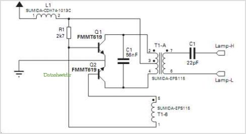 High Efficiency Royer Driver For Scanner Ccfl on Ccfl Inverter Schematic