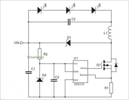 application notes and circuits for A High Power Led Driver ... on