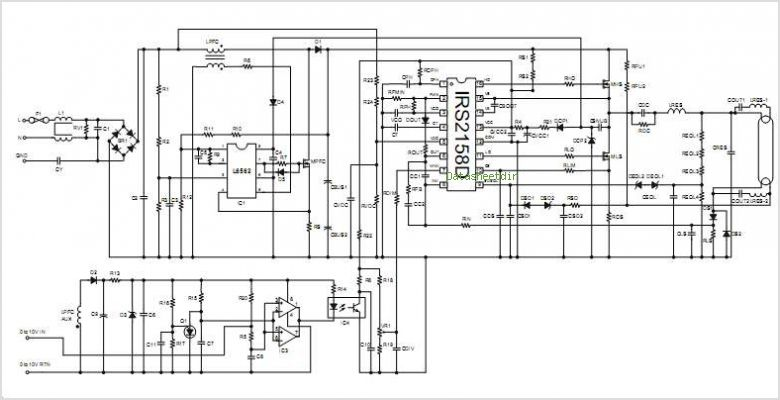 Dimmable Fluorescent Ballast Wiring Diagram Get Free