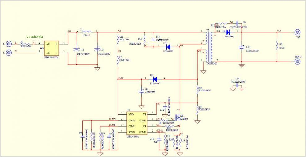 application notes and circuits for Primary-side-control Pwm