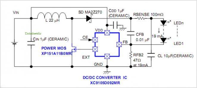 application notes and circuits for using the xc9103 or  index 1705 circuit diagram seekic com