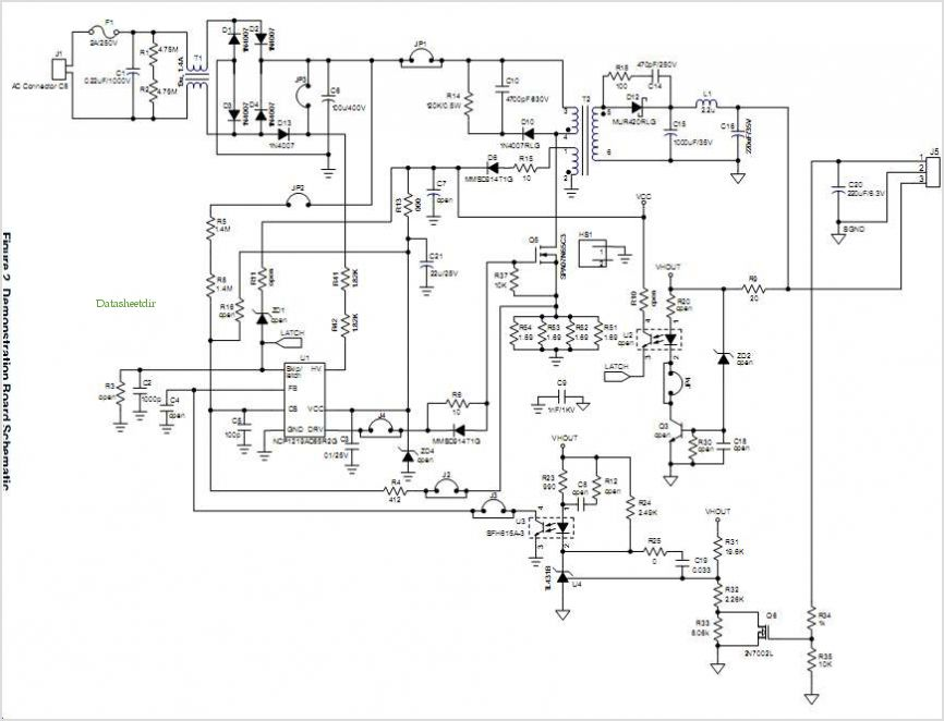 Application Notes And Circuits For 48 W 24 V7 5 V Universal Input