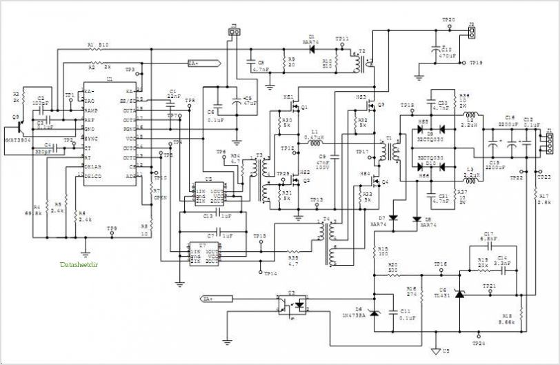 PWM Schematics http://www.datasheetdir.com/Ucc3895-Phase-Shift-Pwm-Controller+Application-Notes