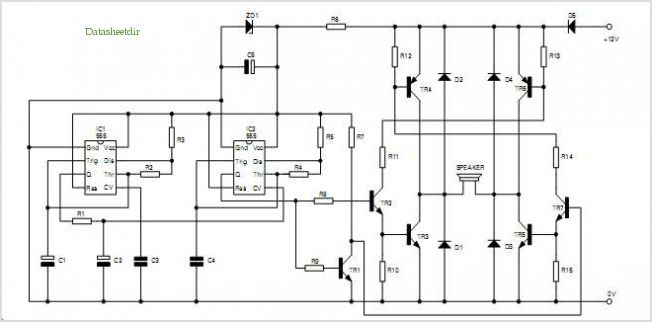 application notes and circuits for Automotive And Household Siren ...