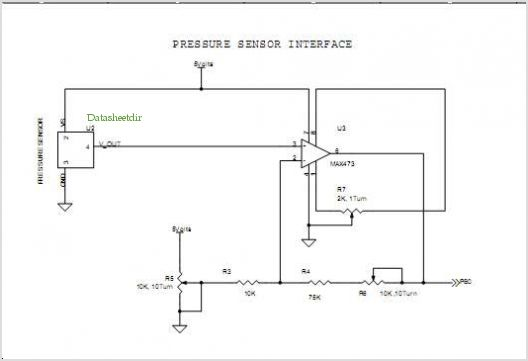 application notes and circuits for Interfacing A Pressure Sensor ...