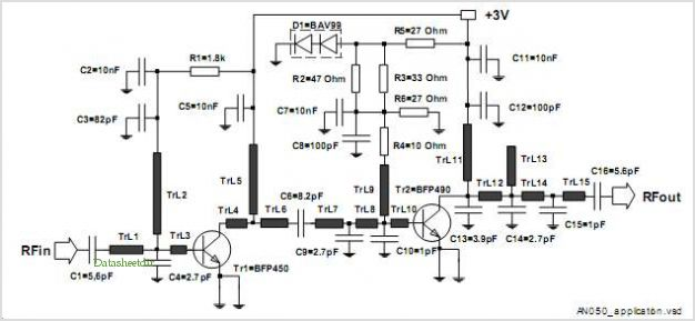A Power-amplifier Module At 1.9 Ghz Using 